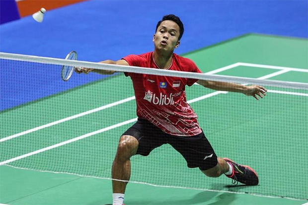Anthony Sinisuka Ginting is now a world class player. (photo: Xinhua)