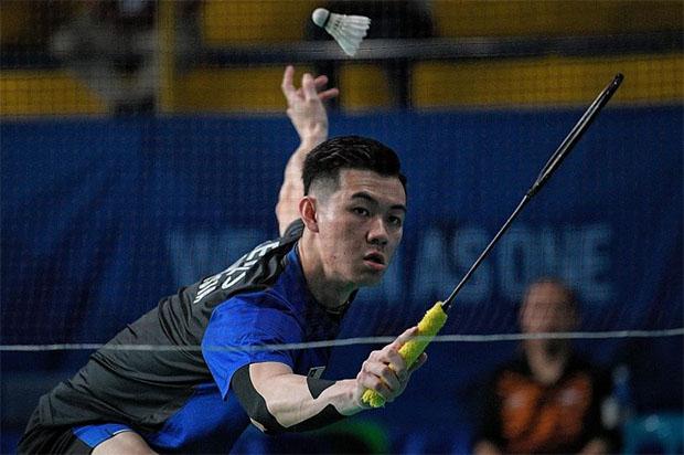 Lee Zii Jia enters the 2019 SEA Games men's singles final. (photo: Mark Cheong)