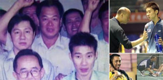 Lee Chong Wei posts pictures of his coaches on social media. (photo: Lee Chong Wei's Facebook)