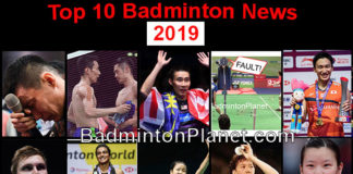 BadmintonPlanet's top 10 badminton news events in 2019