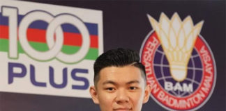 Lee Zii Jia appointed as 100PLUS' new brand ambassador. (photo: Lee Chong Wei's Facebook)