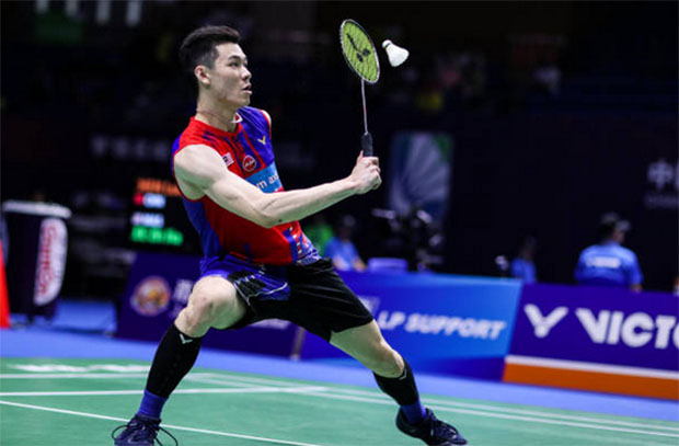 Lee Zii Jia to play Shi Yuqi in the Malaysia Open quarters. (photo: Shi Tang/Getty Images)