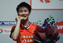 Chen Yu Fei takes home USD $30K for winning the 2020 Malaysia Masters. (photo: Mohd Rasfan/AFP Via Getty Images)