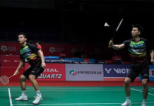 Ong Yew Sin/Teo Ee Yi enter Indonesia Masters second round. (photo: AFP)