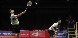 Ong Yew Sin/Teo Ee Yi cruise into Thailand Masters quarter-finals. (photo: Bernama)