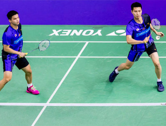 Teo Ee Yi/Ong Yew Sin finish strong in the Thailand Masters semi-final. (photo: Shi Tang/Getty Images)