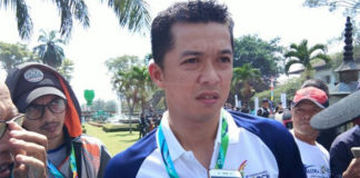 Taufik Hidayat serves as a witness in the bribery case that involved Indonesia's former sports minister Imam Nahrawi. (photo: Kompas)