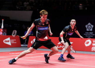 Aaron Chia/Soh Wooi Yik advance to Spanish Masters semis. (photo: Shi Tang/Getty Images)