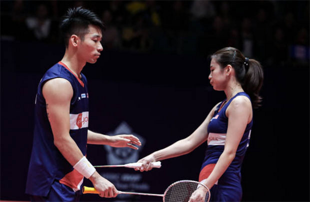 Chan Peng Soon/Goh Liu Ying falter in 2020 All England first round. (photo: Shi Tang/Getty Images)