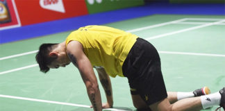 "Badminton fans really hope to see ""Super Dan"" one more time in the Olympics. (photo: Xinhua)"