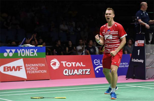 Mads Conrad-Petersen announces retirement after 2020 Thomas Cup Finals.(photo: Romeo Gacad/AFP/Getty Images)