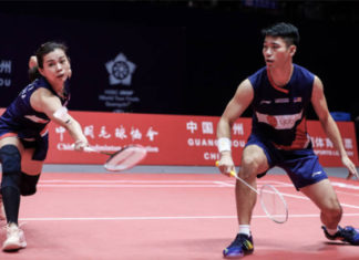 Goh Liu Ying/Chan Peng Soon receive contract extension with Li-Ning. (photo: AFP)