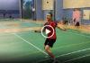 "Tai Tzu Ying plays ""foot badminton"". (photo/video: Tai Tzu Ying's Instagram)"