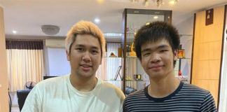 Wish Bodin Isara (L) best of luck with his business. (photo: Bodin Isara's Instagram)