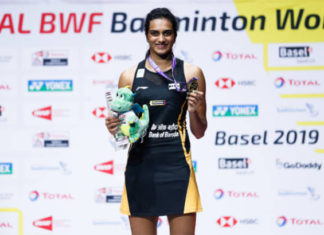 Haters have fueled PV Sindhu to win the World Championships. (photo: AFP)