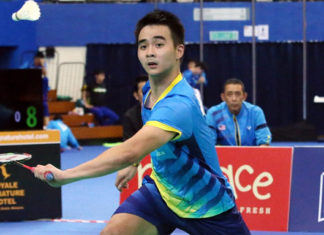 Soong Joo Ven hopes to join the Malaysia Thomas Cup squad. (photo: Amran Hamid)