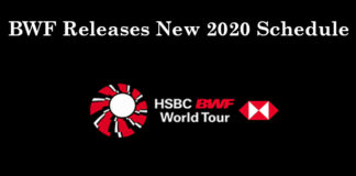 BWF announces plans to resume 2020 schedule. (calendar & photo: BWF)