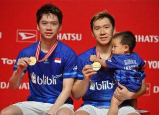 Kevin Sanjaya Sukamuljo/Marcus Fernaldi Gideon have uniquely high standards towards winning championships. (photo: Shi Tang)