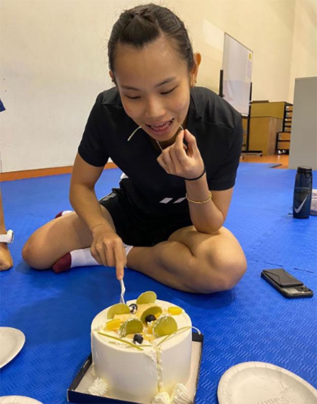 Happy birthday to Tai Tzu Ying. (photo: Tai Tzu Ying's Instagram)