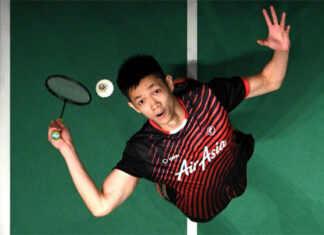 Daren Liew may get a chance to represent Malaysia in the 2020 Thomas Cup Finals. (photo: AFP)