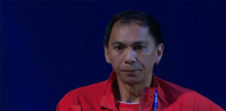 Flandy Limpele is a well-respected men's doubles coach. (source: screenshot from YouTube)