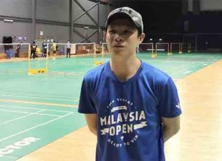 Wong Choong Hann hopes to see strong performance from shuttlers competing at the BAM internal tournament. (photo: Bernama)