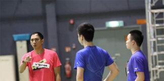 Flandy Limpele looking forward to a new role as Malaysia's men's doubles coach. (photo: BAM)