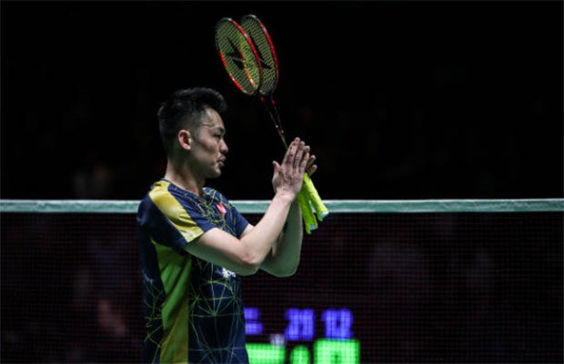 Lin Dan announces retirement from badminton. (photo: Shi Tang/Getty Images)