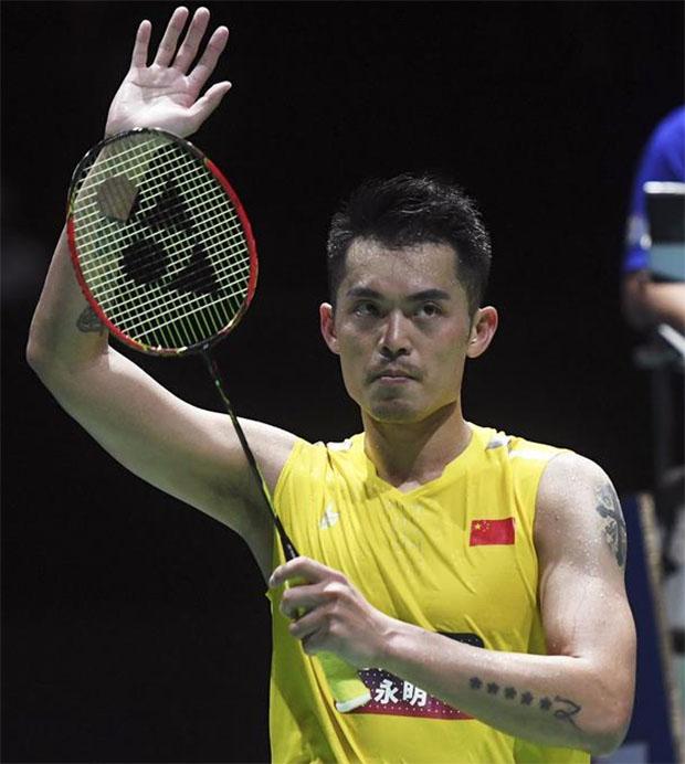 Wish Lin Dan a Happy Retirement! (photo: Xinhua)