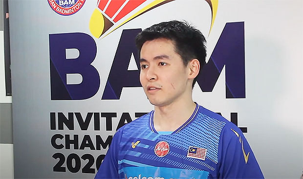 Cheam June Wei is undefeated so far at the BAM Invitational Championships. (photo: BAM)