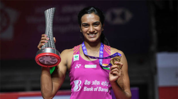 Hope PV Sindhu and all Indian shuttlers are safe and healthy and could resume normal training as soon as possible. (photo: AFP)