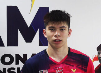 Leong Jun Hao is one of the most exciting young players in the BAM Invitational Championships. (photo: BAM)