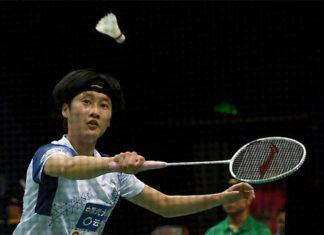 Chen Yufei beats Gao Fangjie on day one of the 2020 China Badminton Super League (CBSL). (photo: Chinanews)