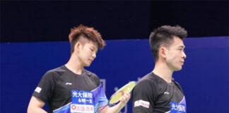 Zheng Siwei (R)/Liu Yuchen are two power smashers in badminton. (photo: Zheng Siwei Instagram)