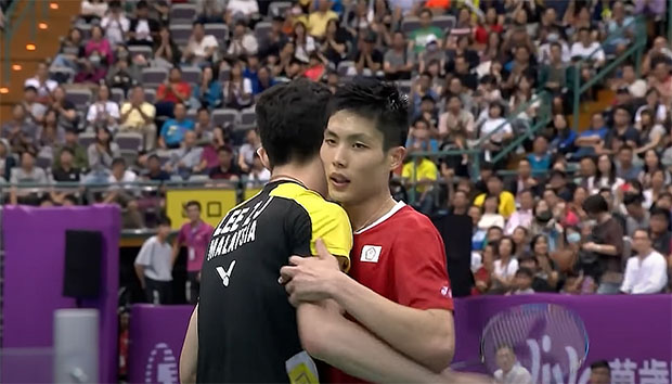 Lee Zii Jia issues statement in support of Chou Tien Chen's middle finger incident.