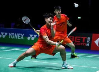Wang Yi Lyu/Huang Dong Ping easily defeat opponents from the Hunan team. (photo: CBSL)