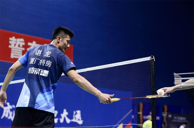 Chen Long continues to be one bright spot for the Xiamen Tefang team.(photo: CBSL)
