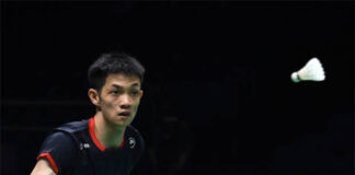 Daren Liew joins Malaysia's Thomas Cup squad. (photo: AFP)