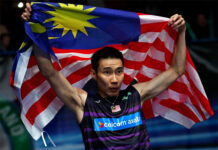 Wish Lee Chong Wei and his family a Happy Malaysia Day as well. (photo: Lee Chong Wei's Facebook)