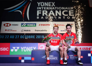 Marcus Fernaldi Gideon/Kevin Sanjaya Sukamuljo are focusing on important tournaments in 2021. (photo: Shi Tang/Getty Images)