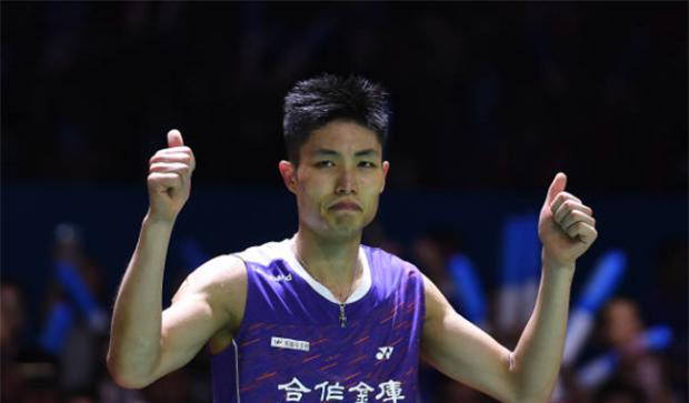 Chou Tien Chen to play at Denmark Open despite coronavirus fears. (photo: Robertus Pudyanto/Getty Images)