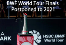 BWF postpones the Asian Leg of HSBC BWF World Tour in January 2021. (photo: BWF)