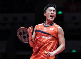 Can't wait to see Kento Momota in action at Denmark Open. (photo: AFP)
