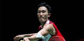 Kento Momota withdraws from Denmark Open. (photo: Shi Tang/Getty Images)