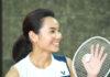 Tai Tzu Ying is having a lot of fun in a Taiwanese TV show. (photo: JohnsonfitnessTW)