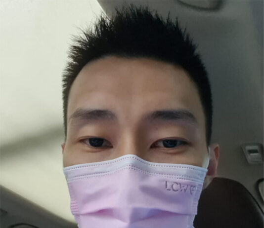 Lee Chong Wei calls on Malaysians to wear face masks. (photo: Lee Chong Wei's Facebook)