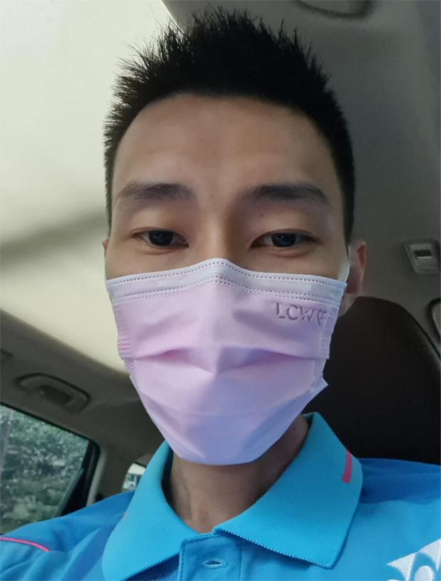 Lee Chong Wei calls on Malaysians to wear face masks. (photo: Lee Chong Wei's Facebook)