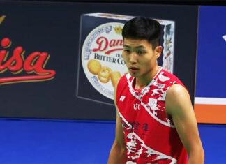 Chou Tien Chen enters Denmark Open second round.