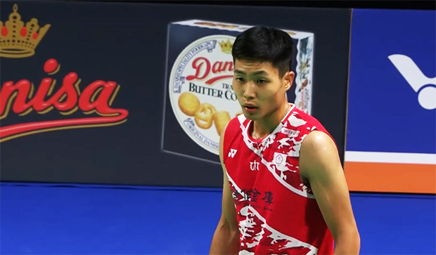Chou Tien Chen enters Denmark Open second round.