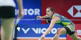 Carolina Marin roars into Denmark Open semi-final. (photo: EPA-EFE)
